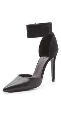 Nicholas Ajax Suede Pumps