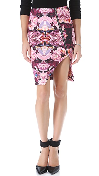 Nicholas Rose Reflect Scuba Pencil Skirt