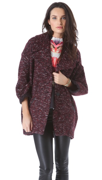 Nicholas Bubble Boucle Coat