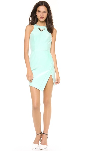 Nicholas Wrap Skirt Dress