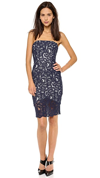 Nicholas Strapless Lace Dress