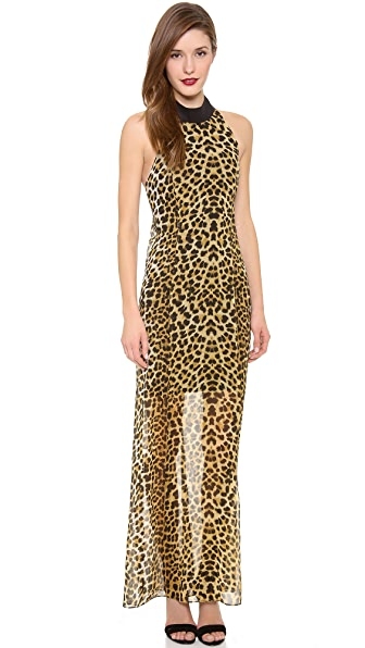 Nicholas Jungle Leopard Gown