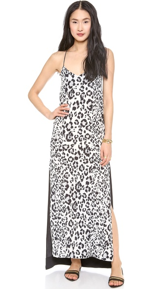 Nicholas Leopard Maxi Dress