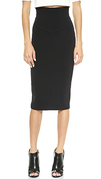 Nicholas Tech Stretch Pencil Skirt
