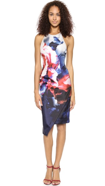 Kupi Nicholas haljinu online i raspordaja za kupiti Nicholas Thermo Floral Backless Dress Thermo Floral online