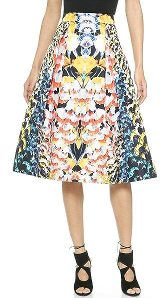 Nicholas Nicholas Spring Floral Silk Ball Skirt (Multicolor)