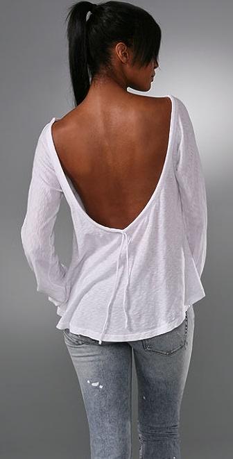 Nightcap Clothing Drop Back Top