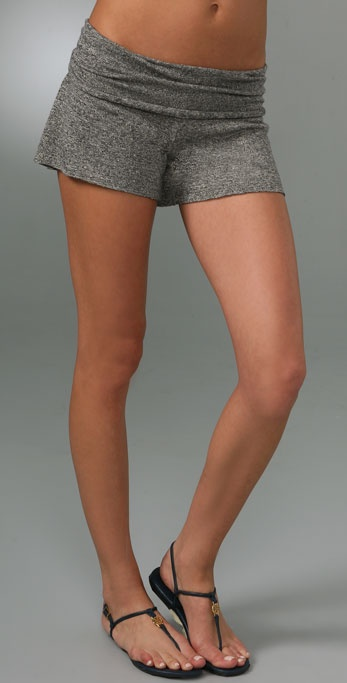 Nightcap Clothing Linen Fold Over Shorts