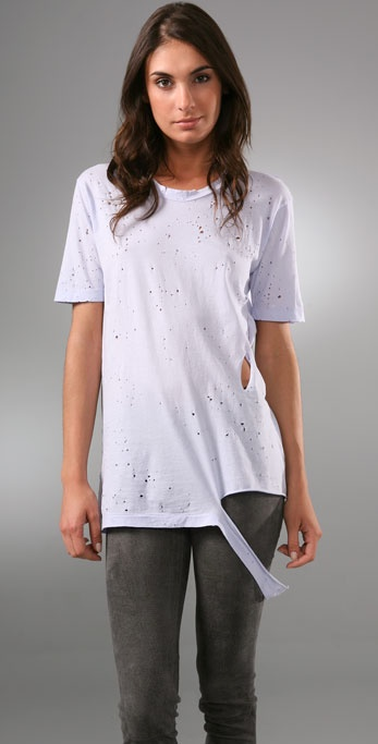 Nightcap Clothing Ripped Boyfriend Shirt