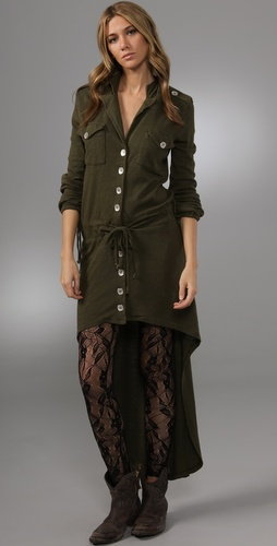 Nightcap Clothing Army Trench Dress