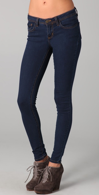 Nightcap Clothing Mid Rise Skinny Jeans