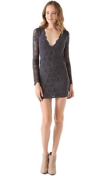 Nightcap Clothing Deep V Victorian Dress