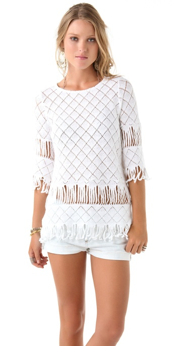Nightcap Clothing Tribal Fringe Tunic