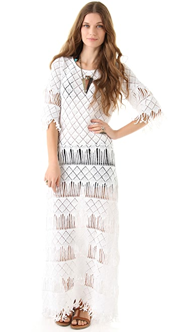 Nightcap Clothing Long Fringe Dress