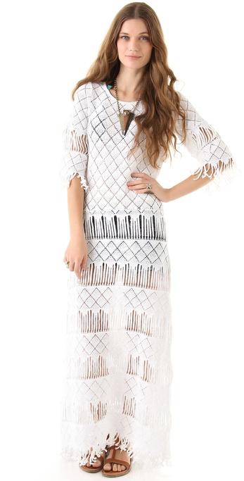 Nightcap Clothing Long Fringe Dress