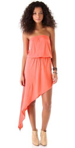 Nightcap Clothing Sunset Strapless Dress