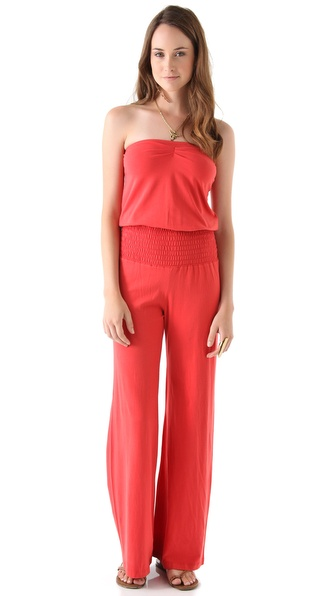 Nightcap Clothing Smocked Baja Jumpsuit