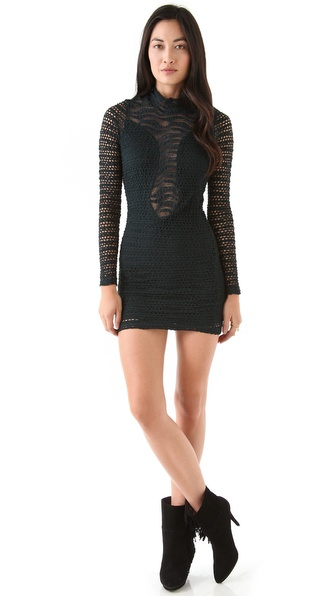 Nightcap Clothing Diamond Down Lace Dress