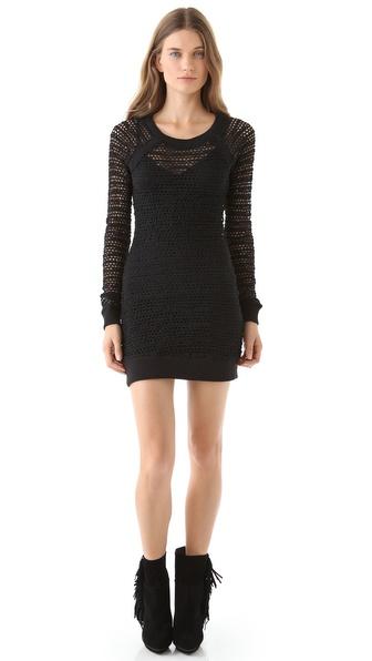 Nightcap Clothing Lace Raglan Dress