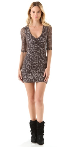 Shop Nightcap Clothing Cheetah Lace Dress and Nightcap Clothing online - Apparel,Womens,Dresses,Cocktail,Night_Out, online Store