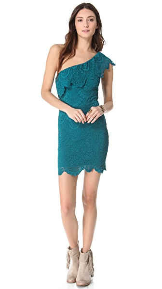 Nightcap Clothing One Shoulder Dress