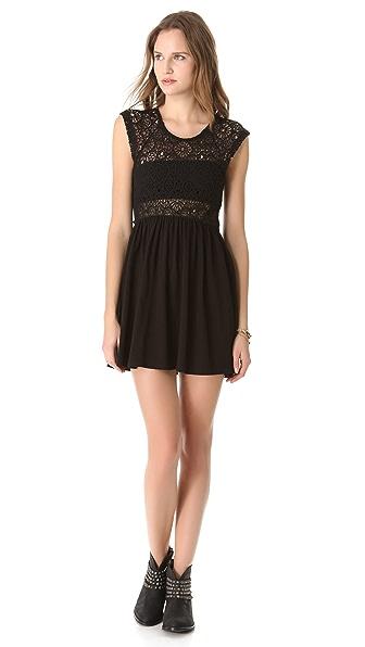Nightcap Clothing Isobel Crochet Dress
