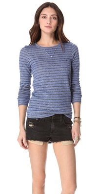 Nightcap Clothing Striped Terry Sweatshirt