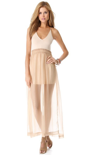 Nightcap Clothing Goddess Maxi Dress