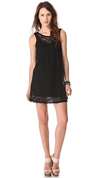 Nightcap Clothing Sunflower Shift Dress