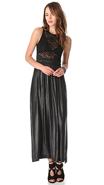 Nightcap Clothing Sunflower Lace Gown