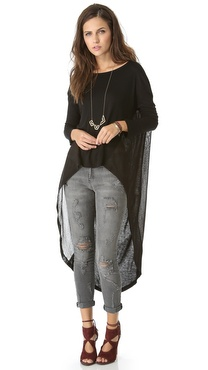 Nightcap Clothing Cape Tee Tunic