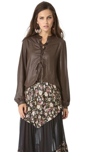 Nightcap Clothing Renaissance Blouse