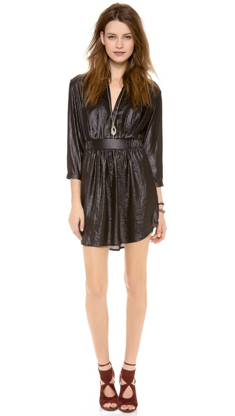 Nightcap Clothing Pintuck Dress