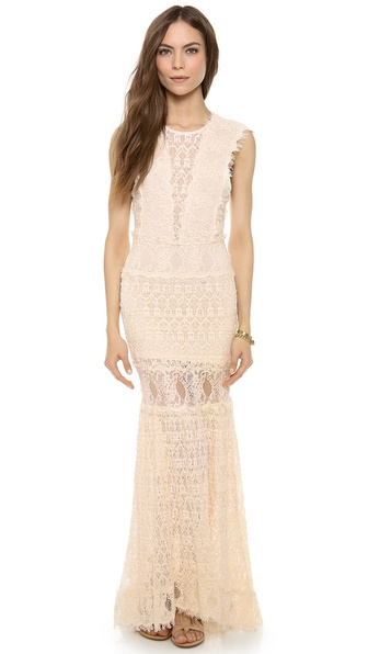 Nightcap Clothing Backless Estelle Gown