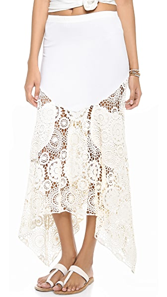 Nightcap Clothing Maude Crochet Skirt