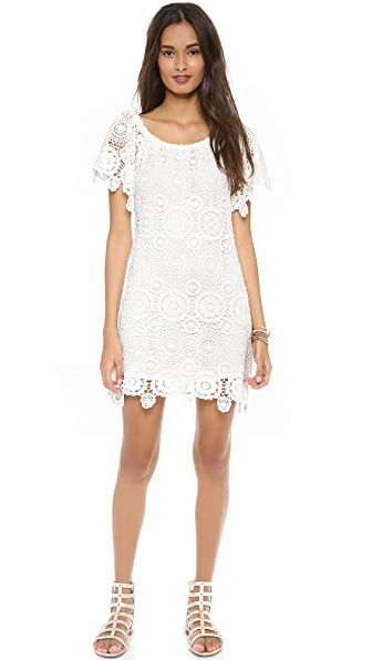 Nightcap Clothing Carmen Crochet Dress