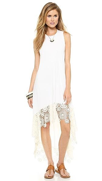 Nightcap Clothing Crochet Hanalei Dress