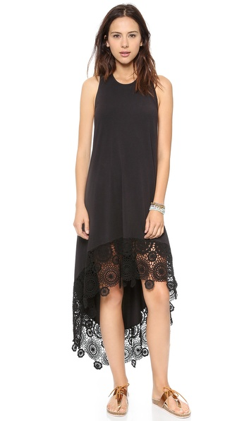 Nightcap Clothing Crochet Hanalei Dress