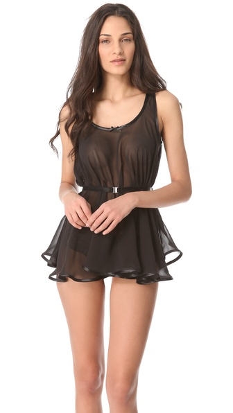 Made by Niki Belted Peplum Chemise