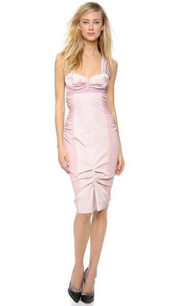 Nina Ricci Cocktail Dress with Bust Detail