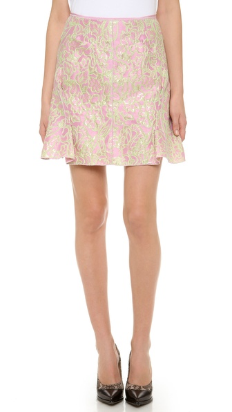 Nina Ricci Pencil Pleated Skirt