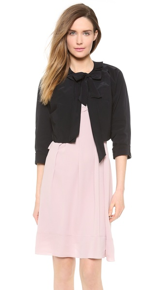 Nina Ricci Cropped Bow Jacket