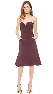 Nina Ricci Strapless Dress