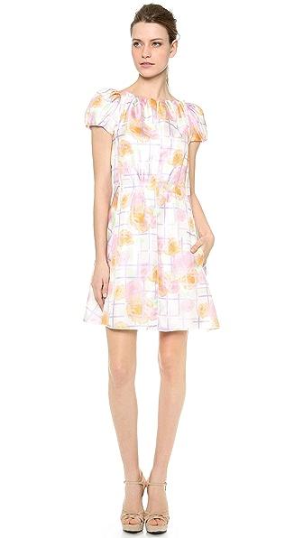 Nina Ricci Puff Sleeve Dress