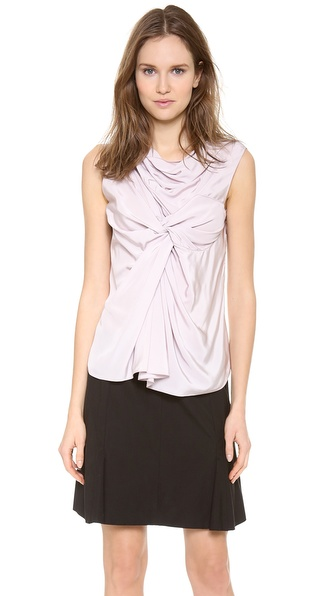 Nina Ricci Sleeveless Draped Top