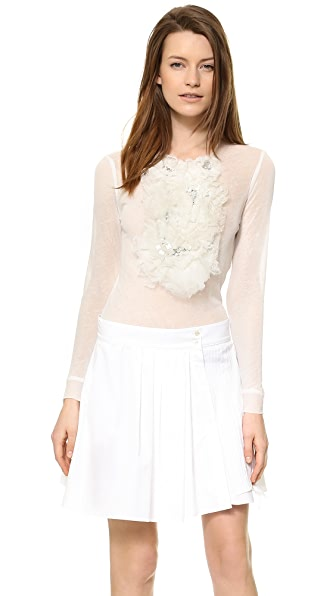 Nina Ricci Long Sleeve Blouse