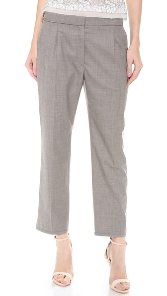 Nina Ricci Cropped Straight Pants