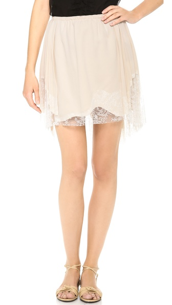 Nina Ricci Lace Edge Skirt