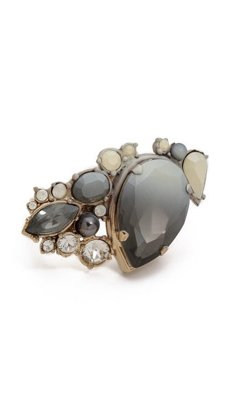 Nina Ricci Double Finger Ring