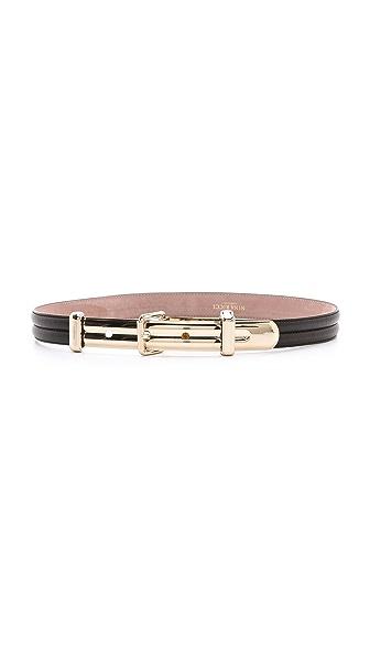 Nina Ricci Slim Leather Belt